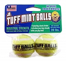 PETSPORT Jr. Tuff Mint Balls Dog Toy - 2 Pack