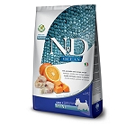 Farmina N&D Dry Dog Food Ocean Codfish and Orange Adult Mini Breed - 2.5 Kg (Pack Of 4)