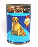 Smart Heart Dog Can Food Chicken - 400 gm