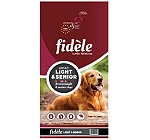 Fidele Light & Senior Adult Food  - 15 kg