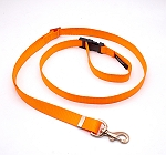 Forfurs Adjustable Protean All Breed Leash - Neon Orange