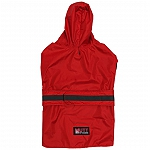 Mutt Of Course Dog Raincoat Red - 5XLarge