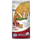 Farmina N&D Dry Dog Food Chicken & Pomegranate Senior Medium & Maxi Breed - 12 Kg