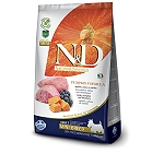 Farmina N&D Dry Dog Food Grain Free Pumpkin Lamb & Blueberry Adult Mini Breed- 800 gm