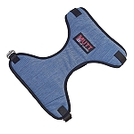 Mutt Of Course Organic Light Denim Harness For Dogs - XLarge