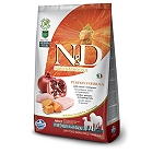Farmina N&D Dry Dog Food Grain Free Pumpkin Chicken & Pomegranate Adult Medium & Maxi - 2.5 Kg