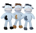 Petsport Tuff Plush Chucky Cow - 34 cm