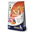 Farmina N&D Dry Dog Food Grain Free Pumpkin Lamb & Blueberry Puppy Mini Breed- 7 Kg