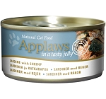 Applaws Cat Can Food  Sardine with Shrimp in a Tasty Jelly -70 gm (24 cans)