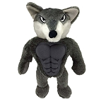 Petsport Six Packers Wolf Plush Toy - 30 cm