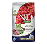 Farmina N&D Dry Dog Food Grain Free Quinoa Weight Management Adult - 2.5 Kg