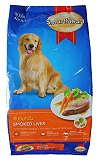 Smart Heart Dry Dog Food Smoked Liver Adult - 1.5 kg
