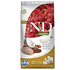 Farmina N&D Dry Dog Food Grain Free Quinoa Skin & Coat Quail Adult - 7 Kg