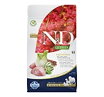 Farmina N&D Dry Dog Food Grain Free Quinoa Digestion Lamb Adult - 800 gm