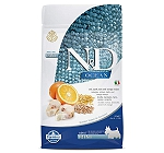 Farmina N&D Dry Dog Food Ocean Codfish and Orange Adult Mini Breed - 800 gm