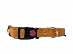 Mutt of Course Gooseberry Water- Resistant Collar for Dogs Purple- Medium