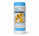 Petkin Jumbo Eye Wipes For Dog & Cat - 80 wipes