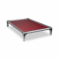 Kuranda All Aluminium Dog Bed Burgundy - Small