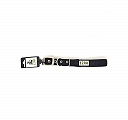 Ezra Double Thick 25 mm Dog Collar - Black