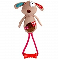 GiGwi Dog Plush Friends With TPR Johnny Stick Dog Toy