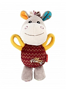 GiGwi Donkey Plush Friends With Squeaker Dog Toy