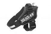 Julius-K9 Reflective Power Dog Harness Size 2 -   Black