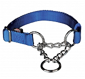Trixie Dog Premium Choke - Medium - 20 mm - Blue