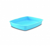 Savic Cat Litter Tray - Small - (LxWxH - 14.5x10x2.5 inch)