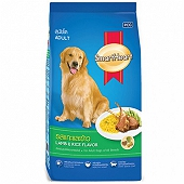 Smart Heart Dry Dog Food Lamb & Rice Adult - 3 kg