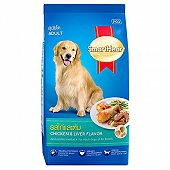 Smart Heart Dry Dog Food Chicken & Liver Adult - 3 kg