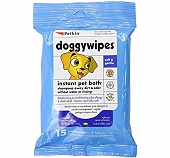 PetKin Doggywipes - 15 Wipes