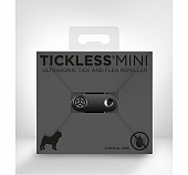 Tickless Mini Rechargeable Tick & Flea Repeller - Black