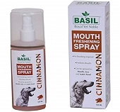 Basil Cinnamon Mouth Spray For Dog - 130 ml