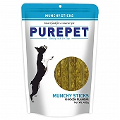 Drools Purepet Munchy Stick Chicken Dog Treat - 400 gm