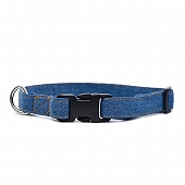 Mutt Of Course Stud Muffin Dark Denim Collar - Medium