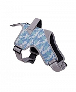 Ezra Hart Camouflage Dog Harness Size 60 - Blue