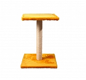 CatSpot Classic Cat Tree (LxBxH -38.1x38.1x53.8) cm -Yellow