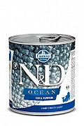 Farmina N&D Wet Dog Food Ocean Codfish & Pumpkin Adult - 285 gm