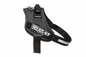 Julius-K9 Reflective Power Dog Harness Size 4 -   Black