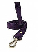 Mutt of Course Wildberry Water- Resistant Leash for Dogs Purple- Large