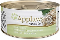 Applaws Kitten Can Food Chicken Breast    -70 gm (24 cans)