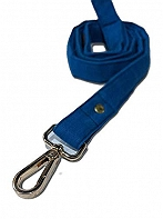 Mutt of Course Blueberry Water- Resistant Leash for Dogs Blue- Medium