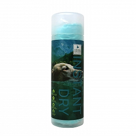 Just Dogs Aroma Groom Cooling Towel for Drying and Cleaning Dog (Green)