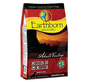 Earthborn Holistic Adult Vantage Grain-Free Dry Dog Food - 2.5 kg