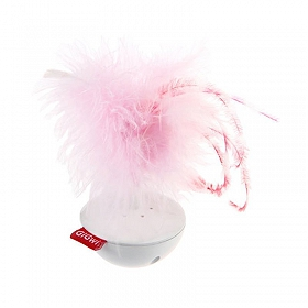 GiGwi PetDroid Wobble Feather with Natural Feather cap and Sound module Cat Toy