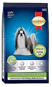 Smart Heart Dry Dog Food Veggie Adult - 1 kg