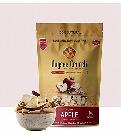 Dogsee Crunch Apple Flavoured Freeze Dried Treats Dog Treat -30 gm