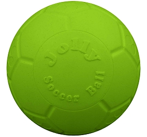 Jolly Pets  Jolly Scoccer Ball Dog Toy Green Apple - 20.3 cm