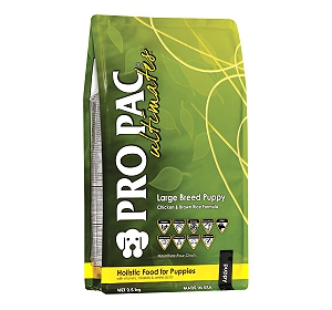 PRO PAC Ultimates Large Breed Puppy Chicken & Brown Rice Formula Dry Dog Food - 2.5 kg