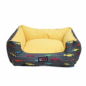 Mutt Of Course Lounger Bed For Dogs - Need for Speed - Large